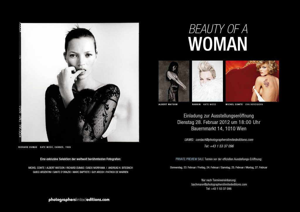 BEAUTY OF A WOMAN INVITATION